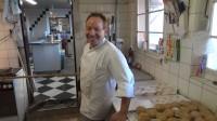 Bäcker nach getaner Arbeit