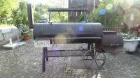 Der Oklahoma Joe Barbecue Grill im Freihof Schmidrüti